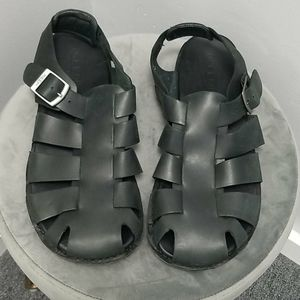 Keen Sandals Black Leather